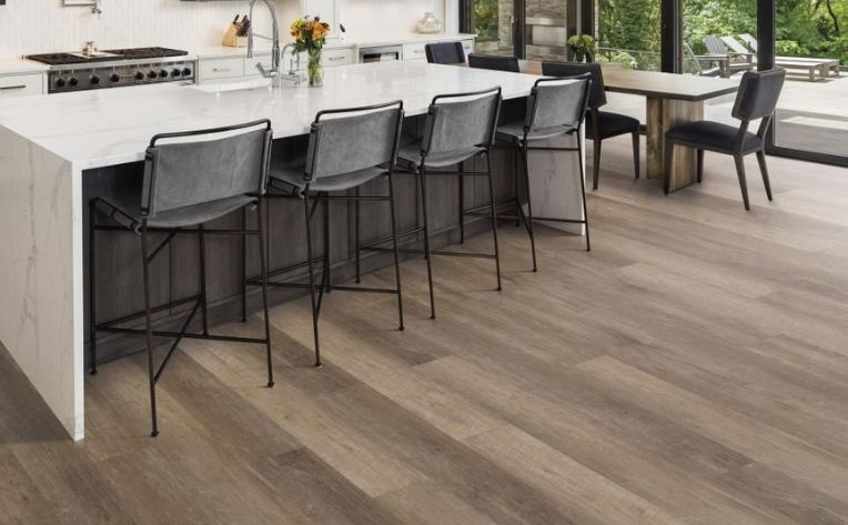 Wide-Plank Luxury Vinyl Kitchen Flooring